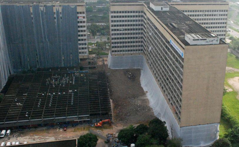 Hospital será demolido no Rio