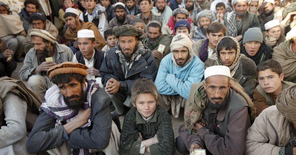 Ajuda humanitária no Afeganistão