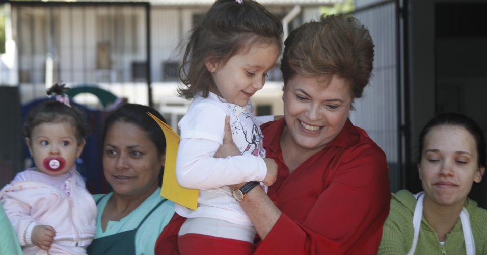 Aniversário de Dilma em Porto Alegre