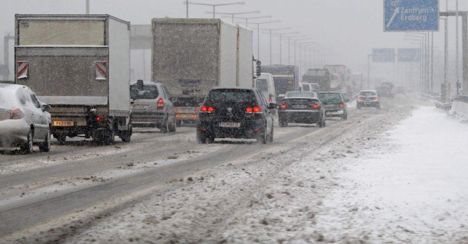 Neve na Áustria