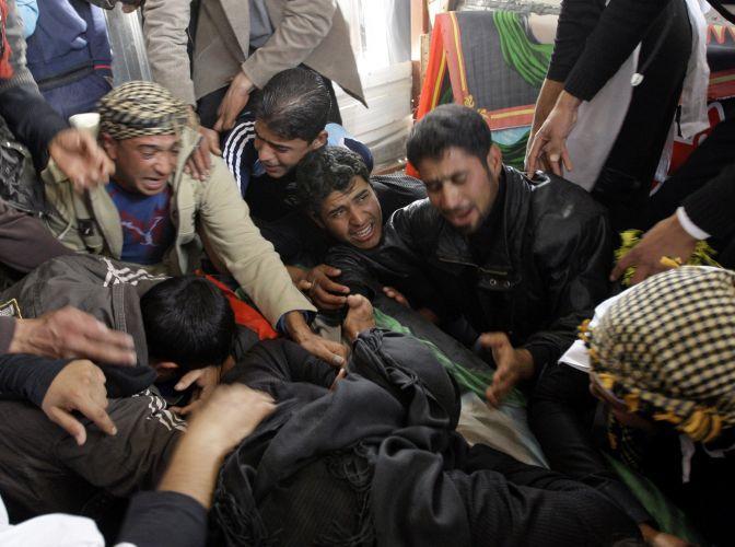 Luto em Bagdá