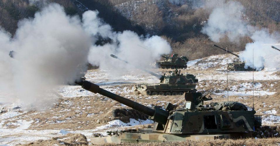 Tensão na Coreia do Sul