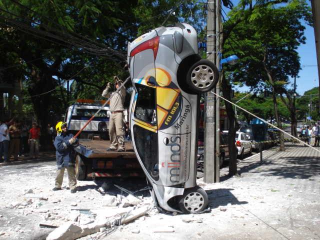 Acidente em Maringá