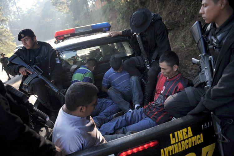 Prisão na Guatemala