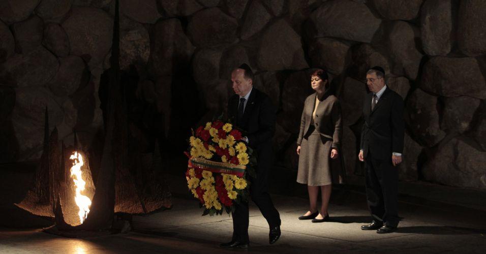 Homenagem em Jerusalém