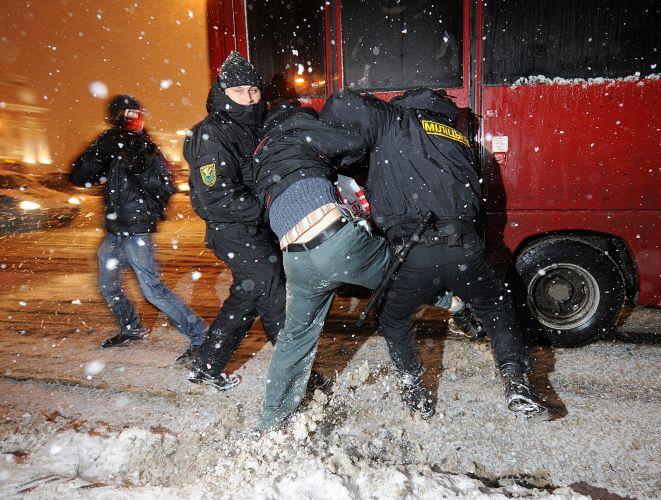 Repressão em Belarus