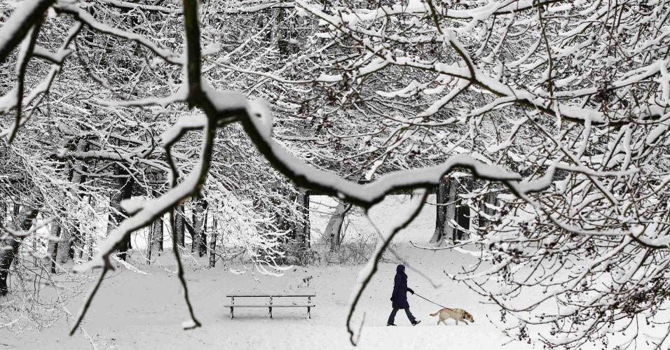 Neve na Bélgica