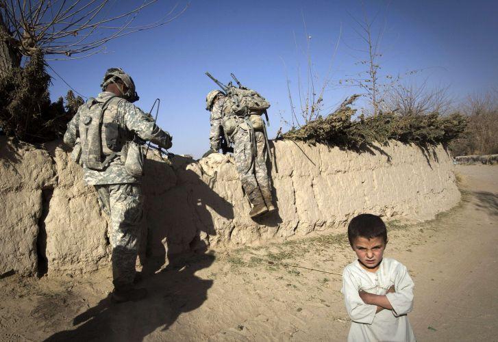 Tropas estrangeiras no Afeganistão