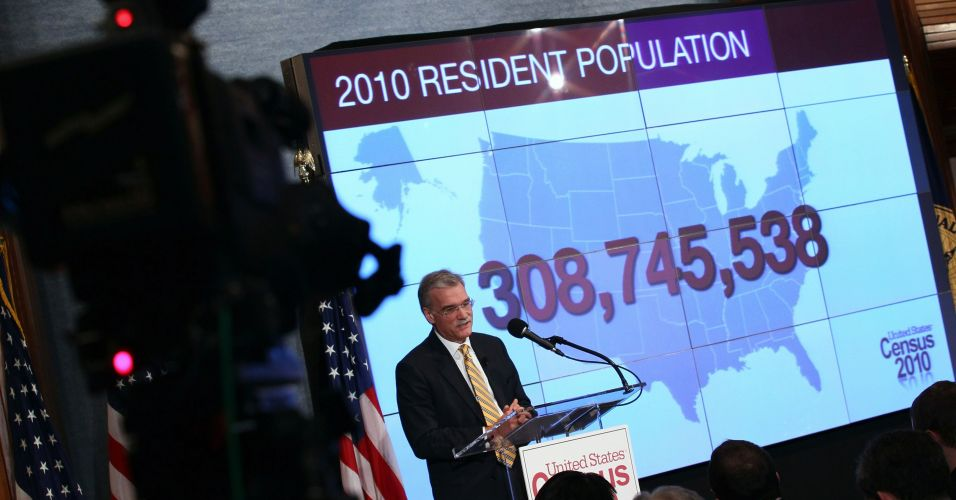 Governo americano apresenta censo