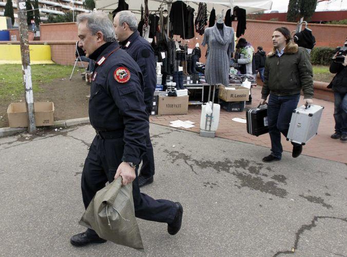 Suspeita de bomba no metrô de Roma