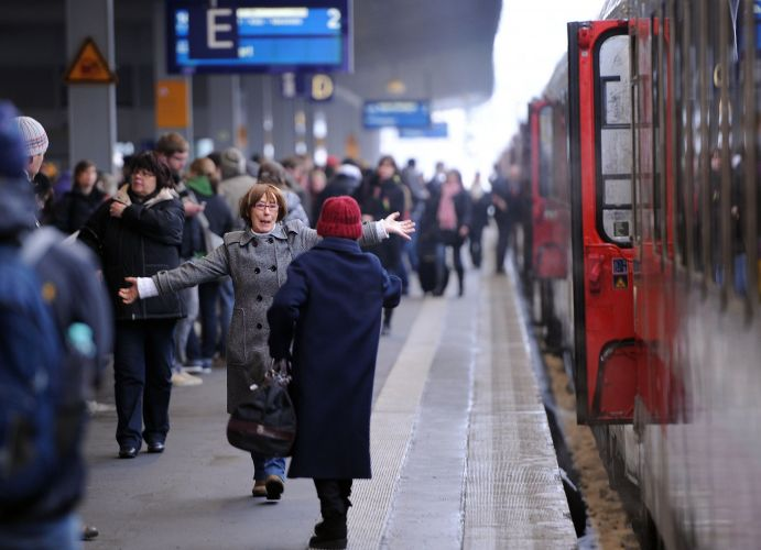 Onda de frio atrapalha viagens na Europa