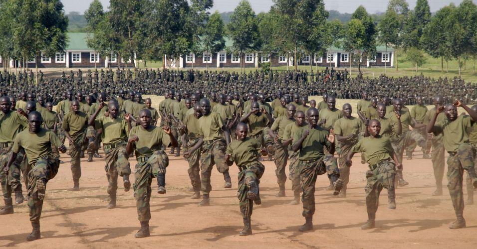 Treinamento em Uganda