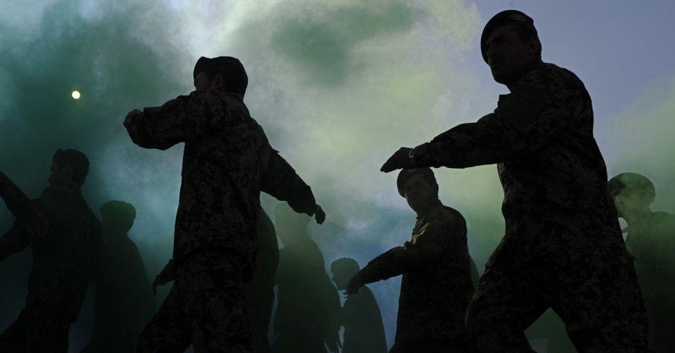 Graduação militar em Cabul