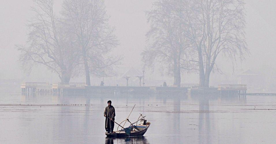 Lago Dal na Índia