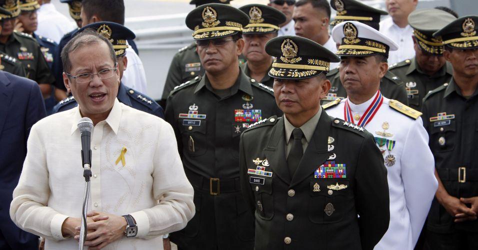 Presidente filipino dá entrevista