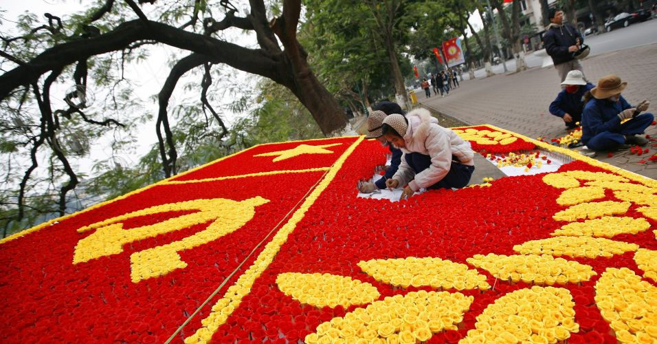 Congresso comunista no Vietnã