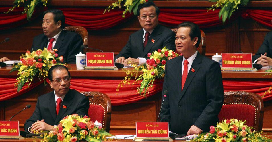Congresso do Partido Comunista em Hanói