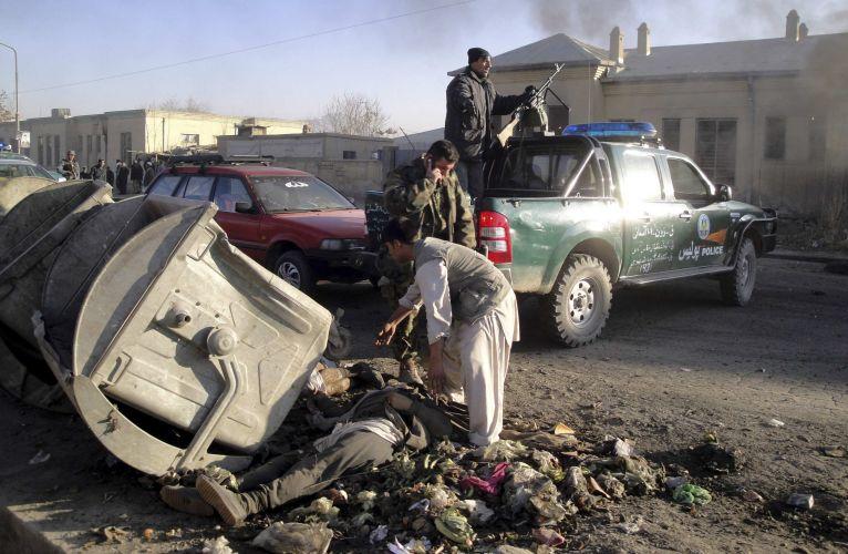 Atentado em Cabul