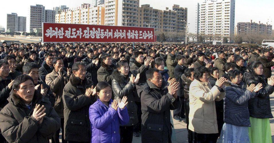 Aniversário na Coreia do Norte