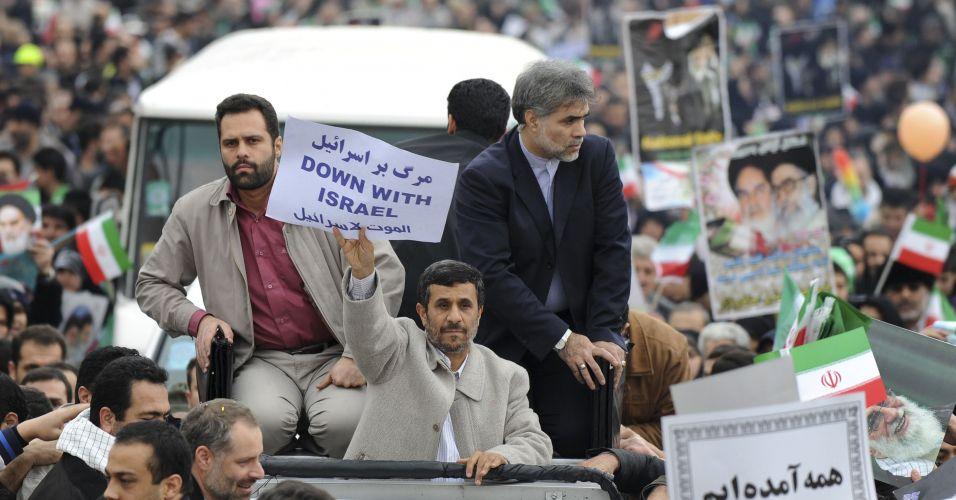 Desfile no Irã