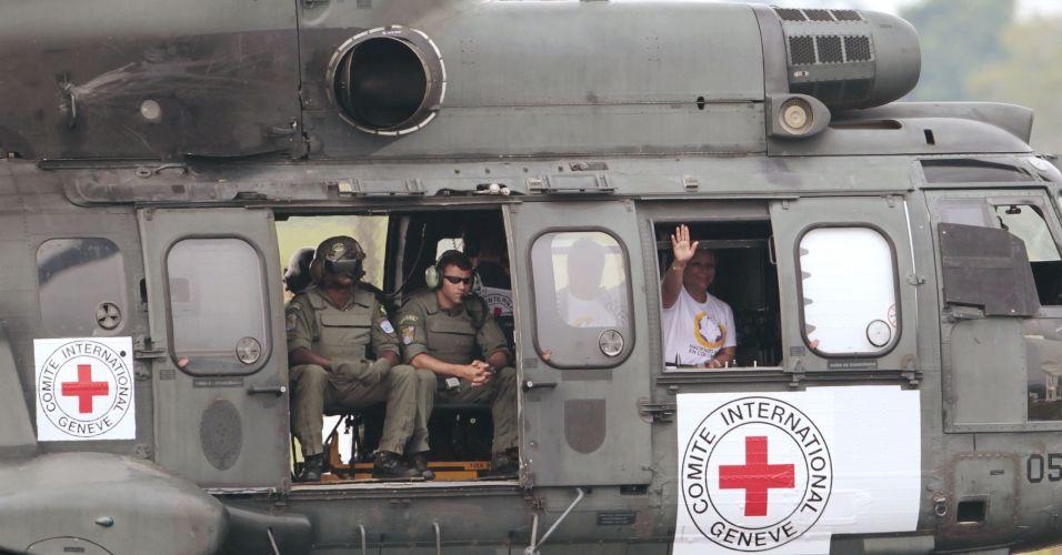 Resgate na Colômbia