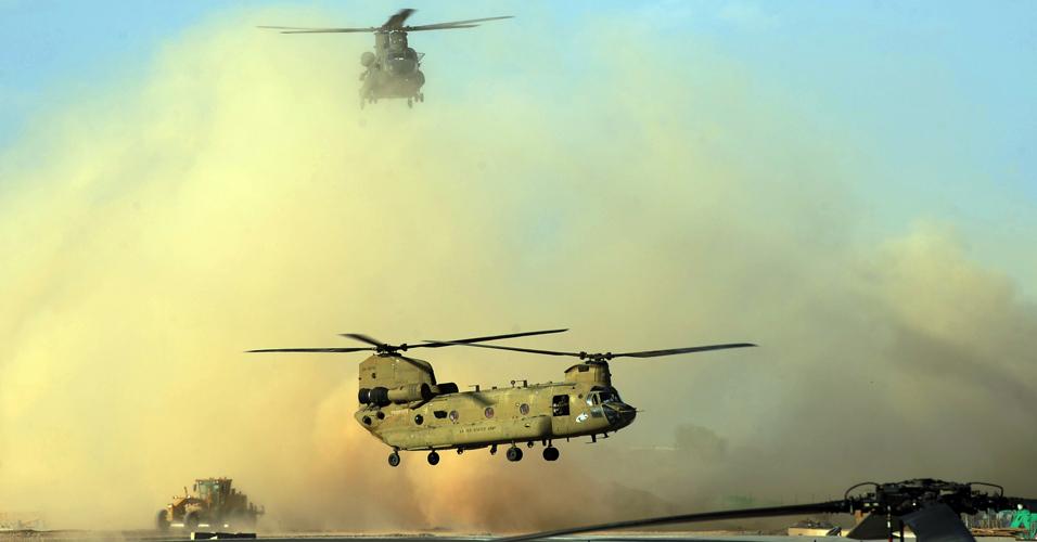 Helicópteros dos EUA