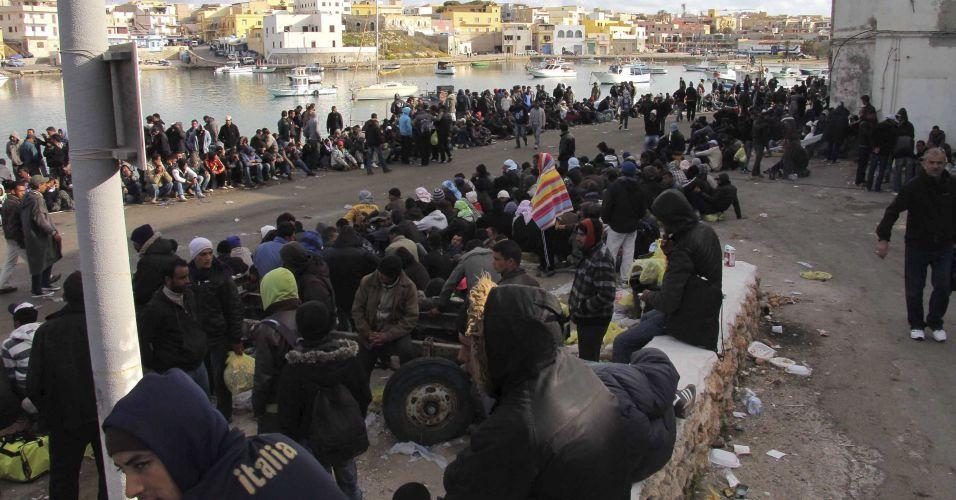 Imigrantes na Itália
