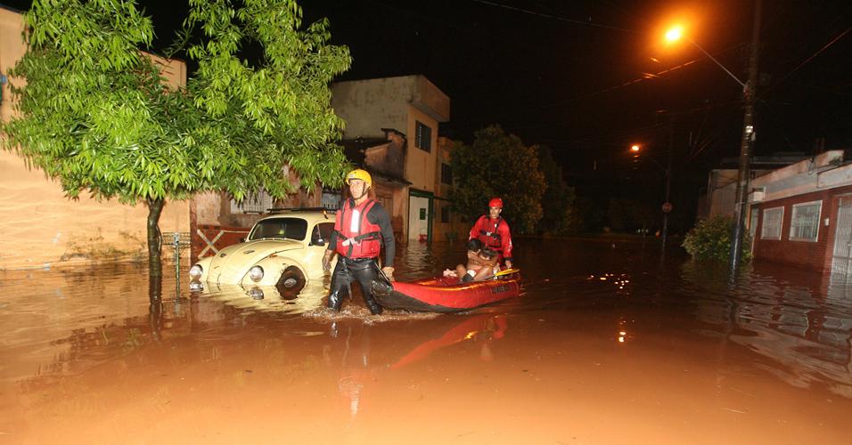 Enchente em Ribeirão