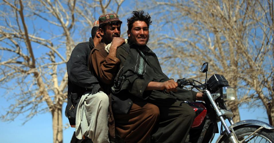 Motoqueiros afegãos