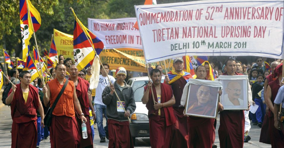 Marcha de monges