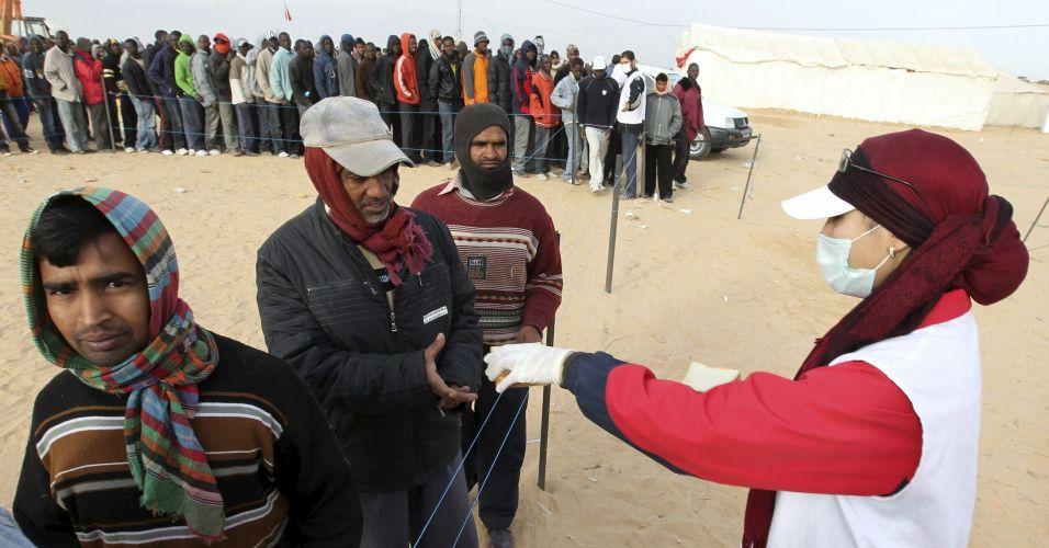 Refugiados na Tunísia