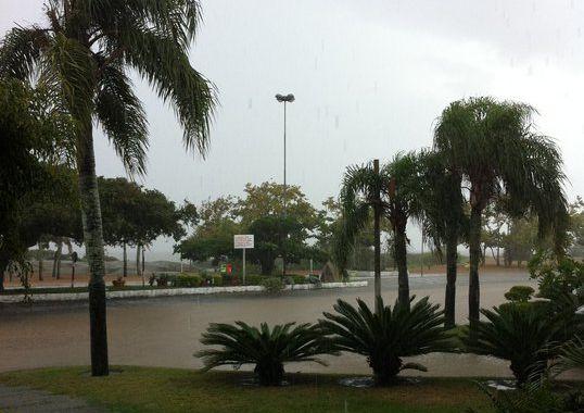 Chuva no RS