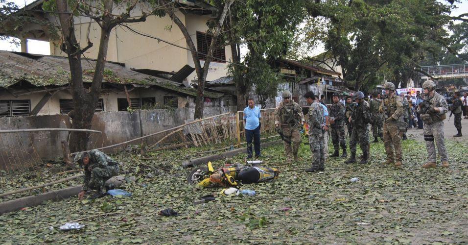 Explosão nas Filipinas