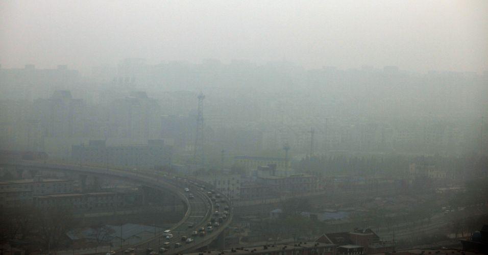 Poluição na China