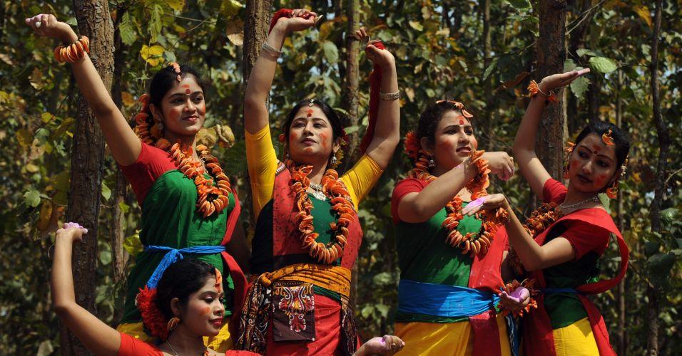 Festival da Primavera na Índia