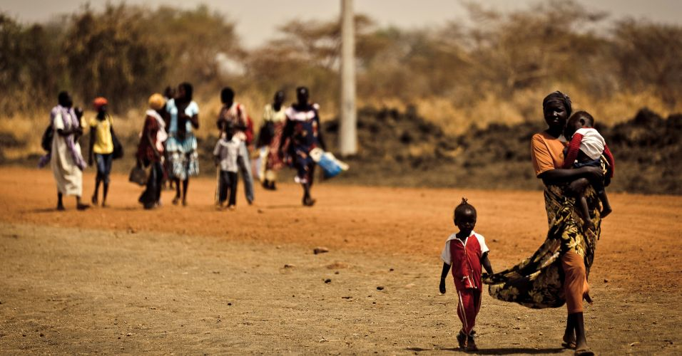 Área disputada no Sudão