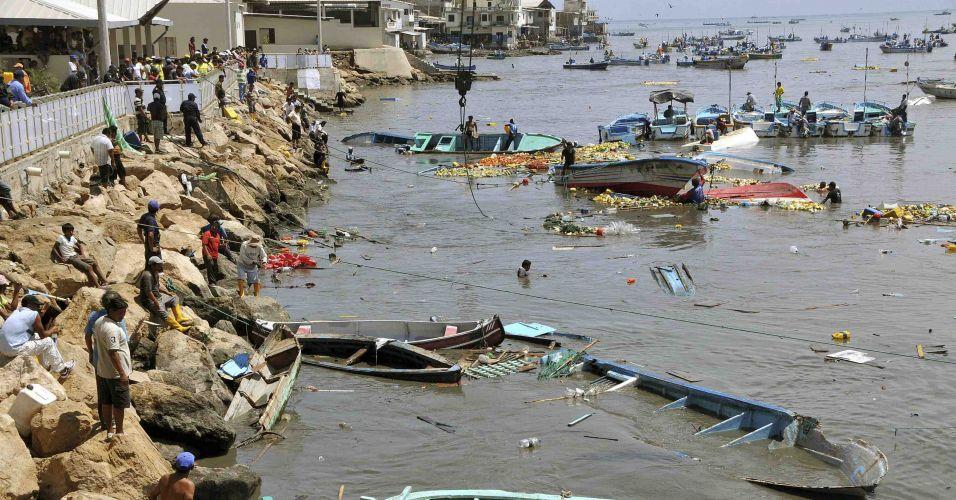 Tsunami no Equador