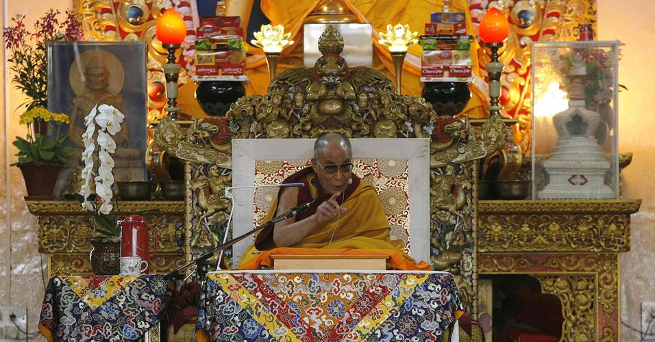 Dalai-lama discursa