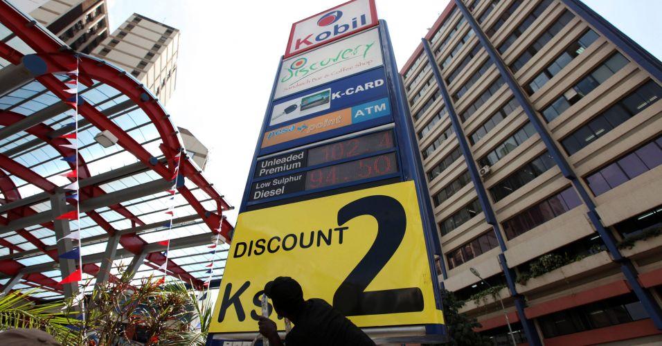 Gasolina no Quênia