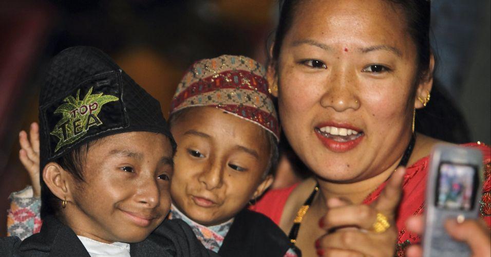 Baixinhos no Nepal