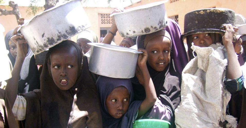 Fila na Somália