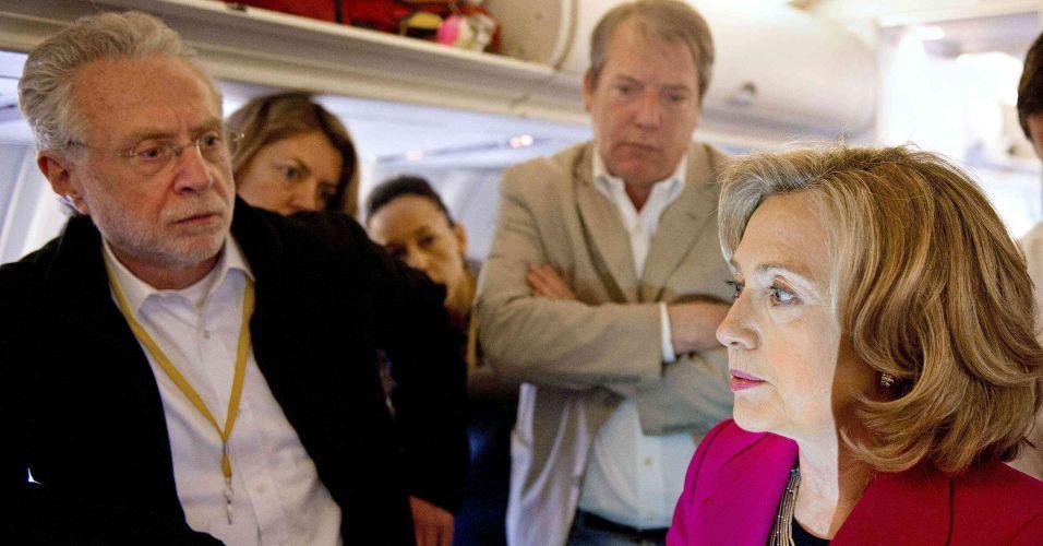 Hillary no Cairo