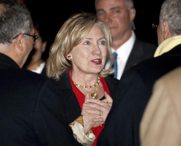 Hillary na Tunísia