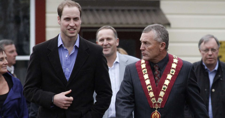 Príncipe William na Nova Zelândia