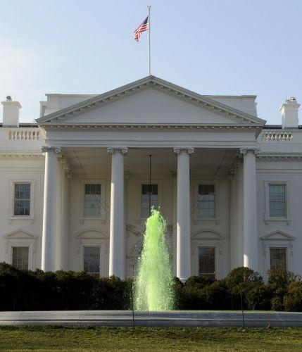 Casa Branca e verde