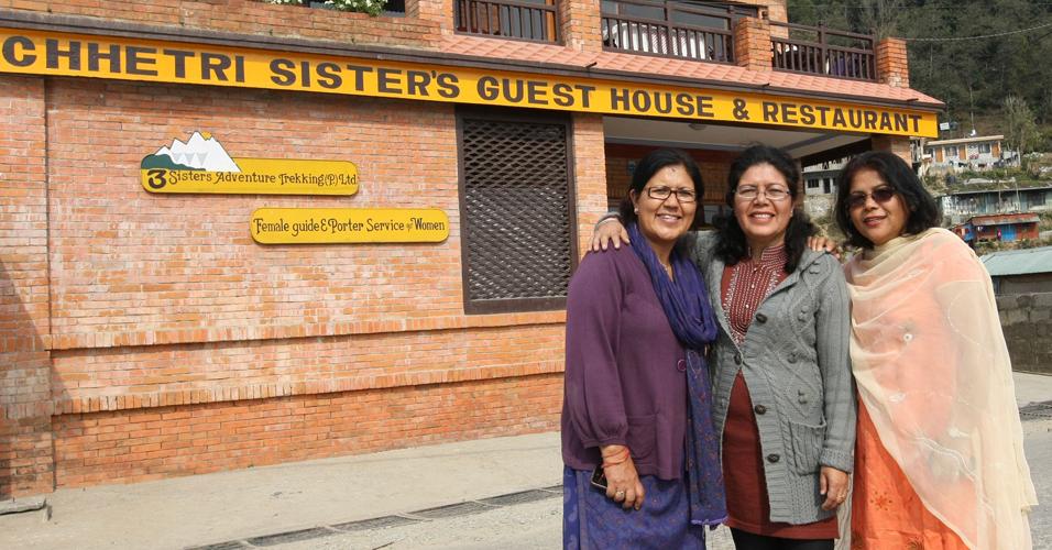 Irmãs nepalesas
