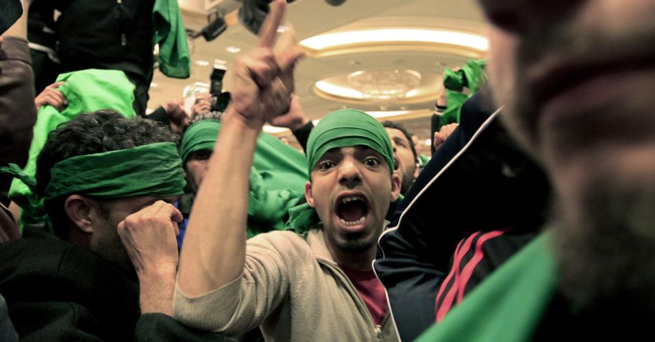 Pró-Gaddafi