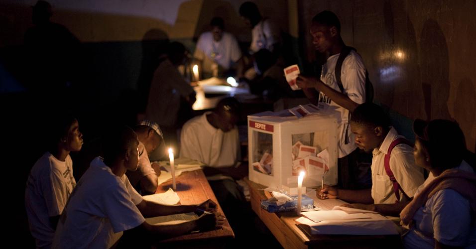 Eleição no Haiti