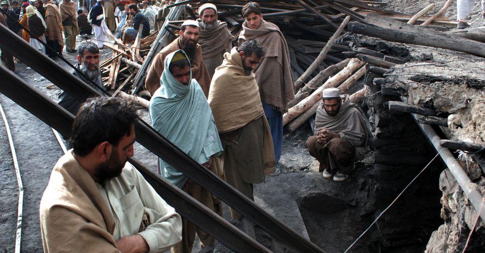 Mina explode no Paquistão