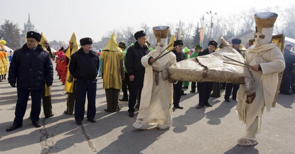 Equinócio no Cazaquistão